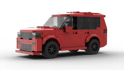 LEGO Jeep Grand Cherokee SRT Model