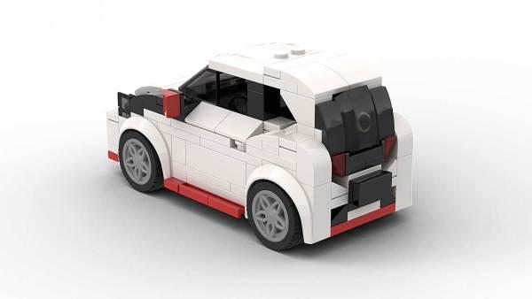 LEGO Toyota Aygo Model Rear View