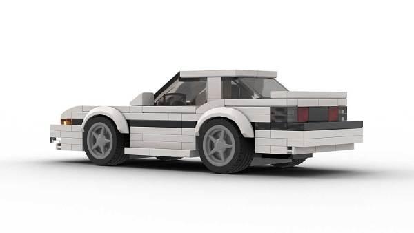 LEGO Toyota Supra 86 Model Rear View