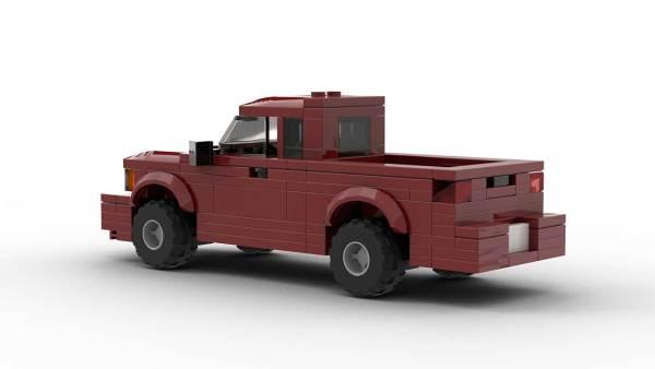 LEGO Chevrolet S10 96 Extended Cab Model Rear