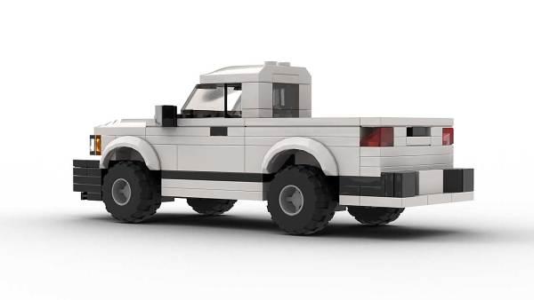 LEGO Chevrolet S10 96 Single Cab Model Rear