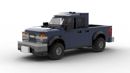 LEGO Chevrolet Colorado 2005 Crew Cab Model