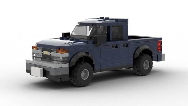 LEGO Chevrolet Colorado 2005 Crew Cab Model