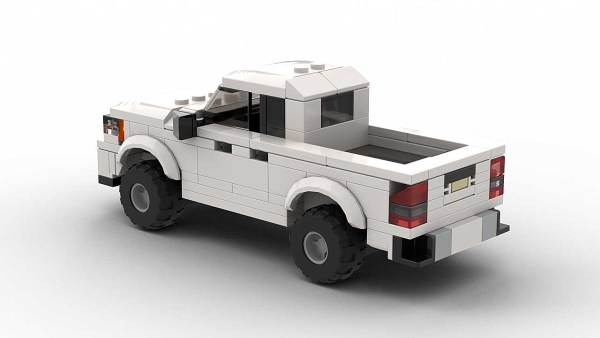 LEGO Chevrolet Colorado 2015 Model Rear View