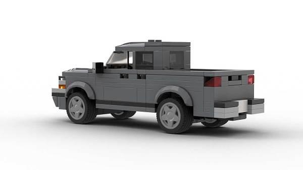 LEGO Chevrolet S10 2001 Crew Cab Model Rear