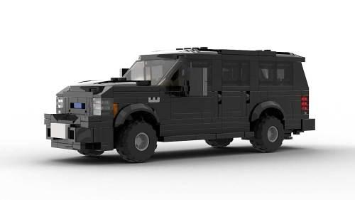 LEGO Ford Excursion FL Model