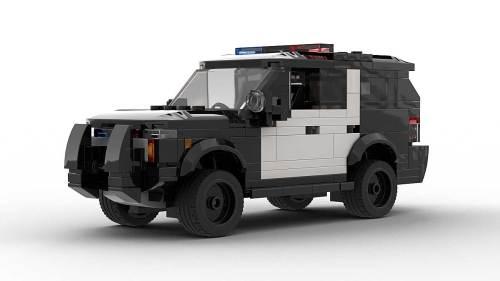 LEGO Chevrolet Tahoe PPV 21 Model