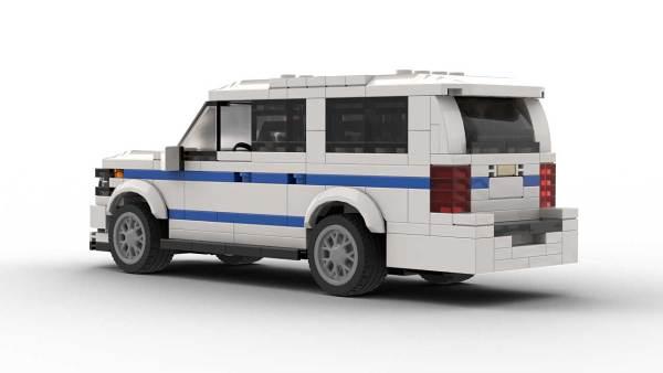 LEGO Chevrolet Suburban 18 NYPD Model Rear