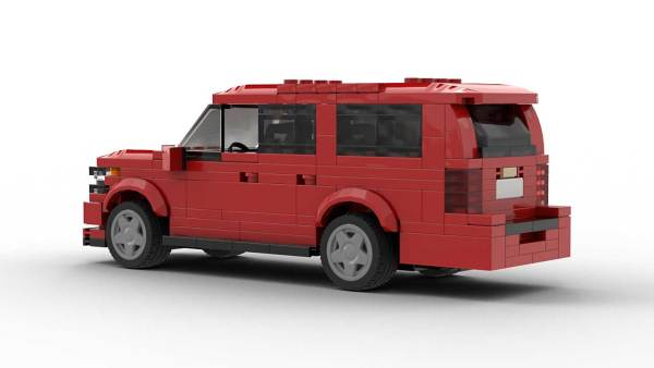 LEGO Chevrolet Suburban 18 Model Rear