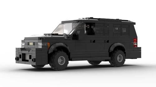 LEGO Chevrolet Suburban 2012 Model