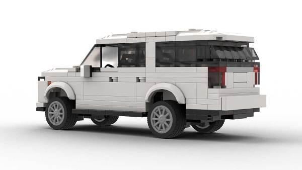 LEGO Chevrolet Suburban 22 model Rear