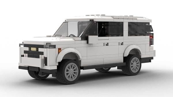 LEGO Chevrolet Suburban 22 Model