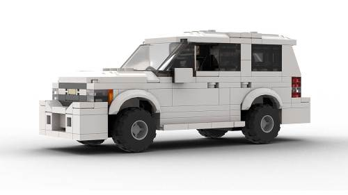 LEGO Chevrolet Tahoe 2012 Model