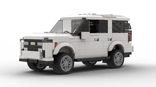 LEGO Chevrolet Tahoe 22 Model