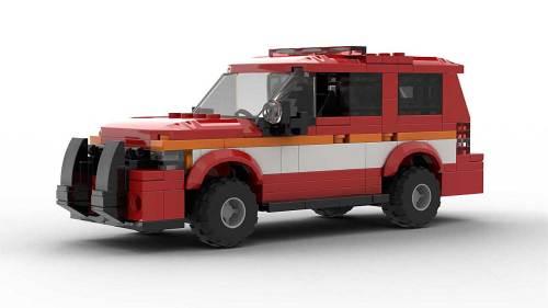 LEGO Chevrolet Tahoe Fire Dep 2012 Model