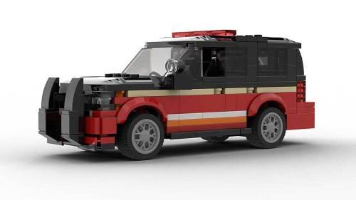 LEGO Chevrolet Tahoe Fire Dep 2018 Model