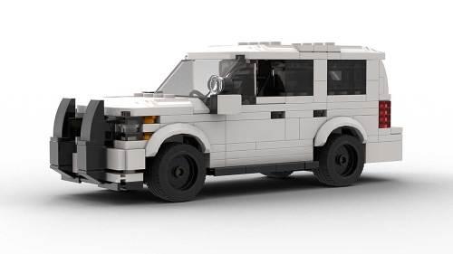 LEGO Chevrolet Tahoe PPV 2018 White Model