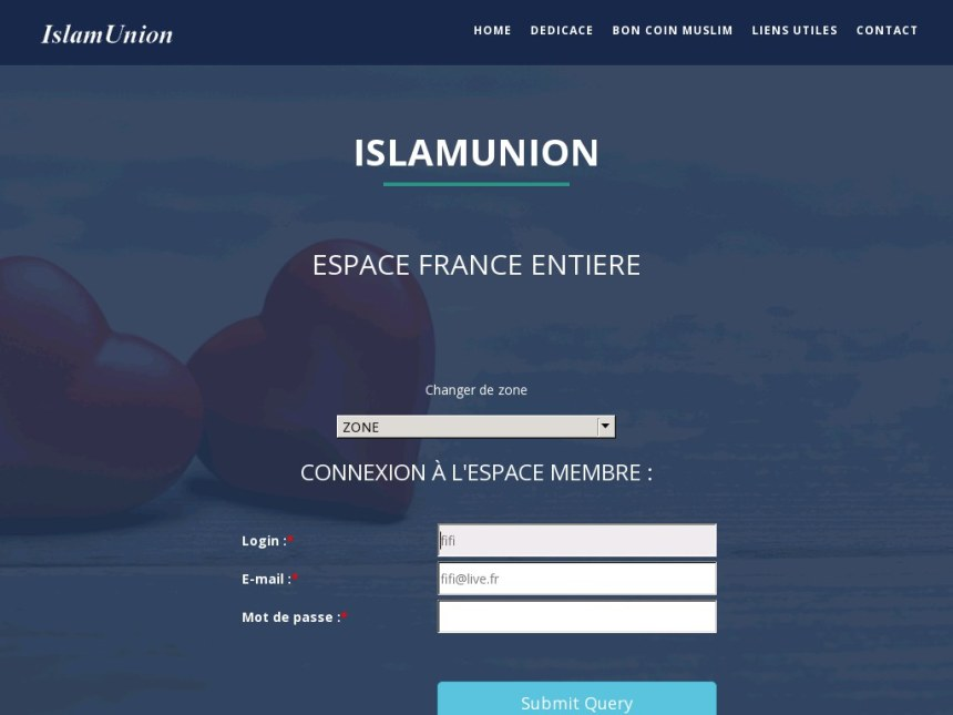 IslamUnion - Test & Avis