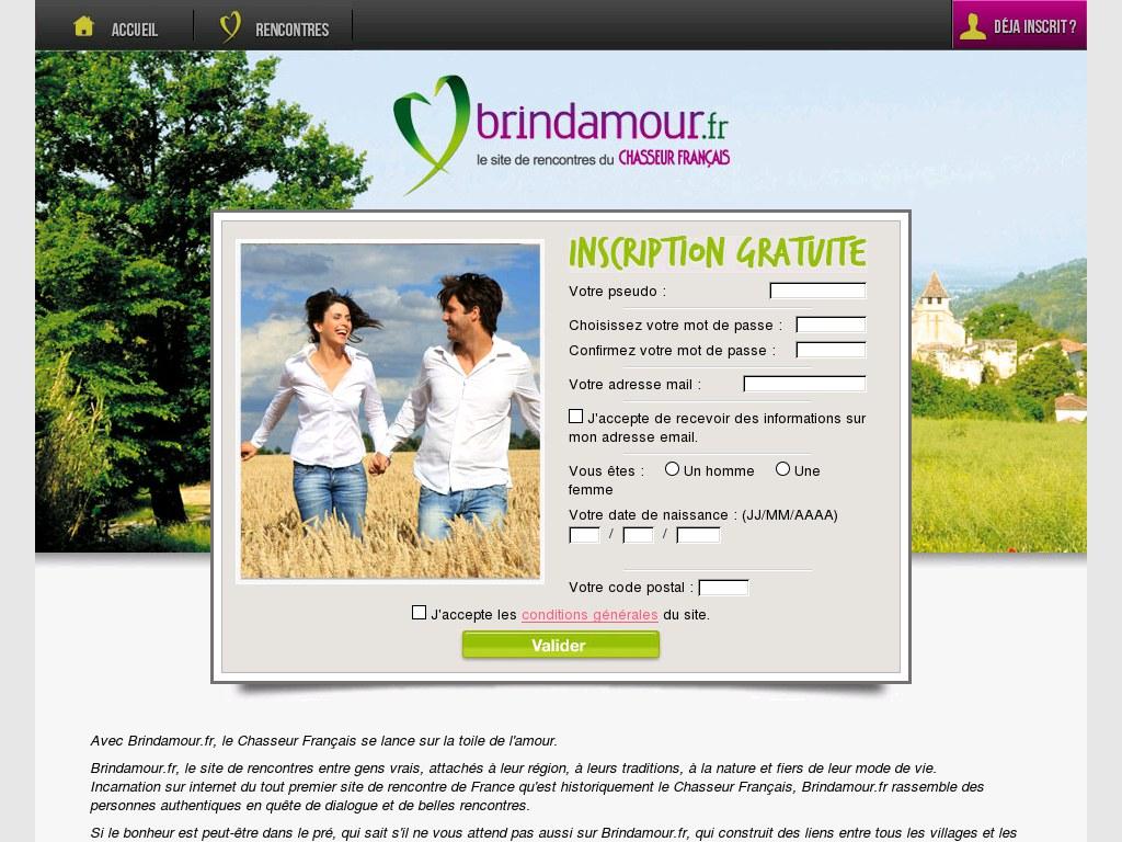 Brindamour : Un site de rencontre spécialisé pour les fans de chasse ! Arnaque ?