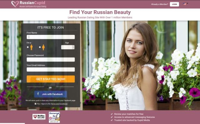 RussianCupid - Test, Avis, Infos et Tarifs