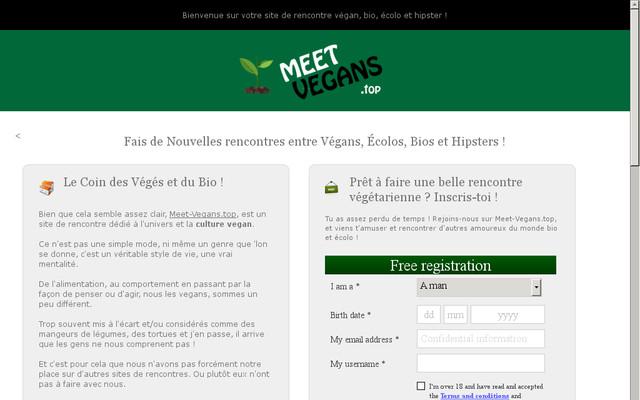 Des sites de rencontre pour les célibataires écolos, végétariens et végans
