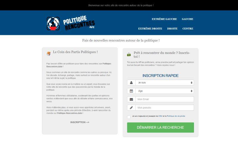 Politique-Rencontres - Test, avis, infos et tarifs
