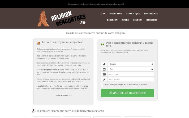 Religion-Rencontres - aperçu, aperçu, informations et prix