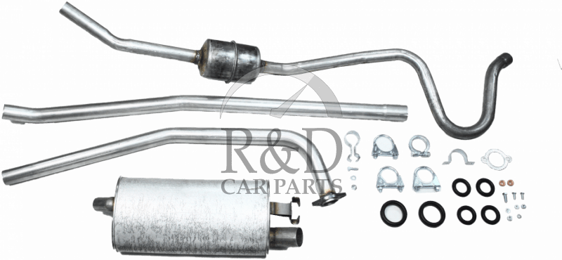 Exhaust System B18 Single Tube Front Pipe Volvo Amazon 220