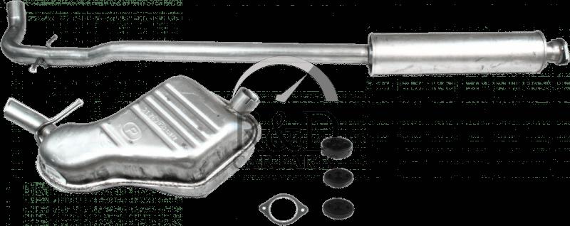 Exhaust System catback Volvo V70, 8634167