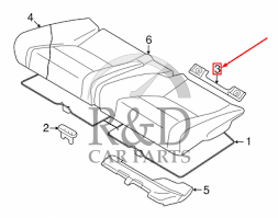 Isofix Holder Kit Volvo C30/C70/S40/V50, 31439072