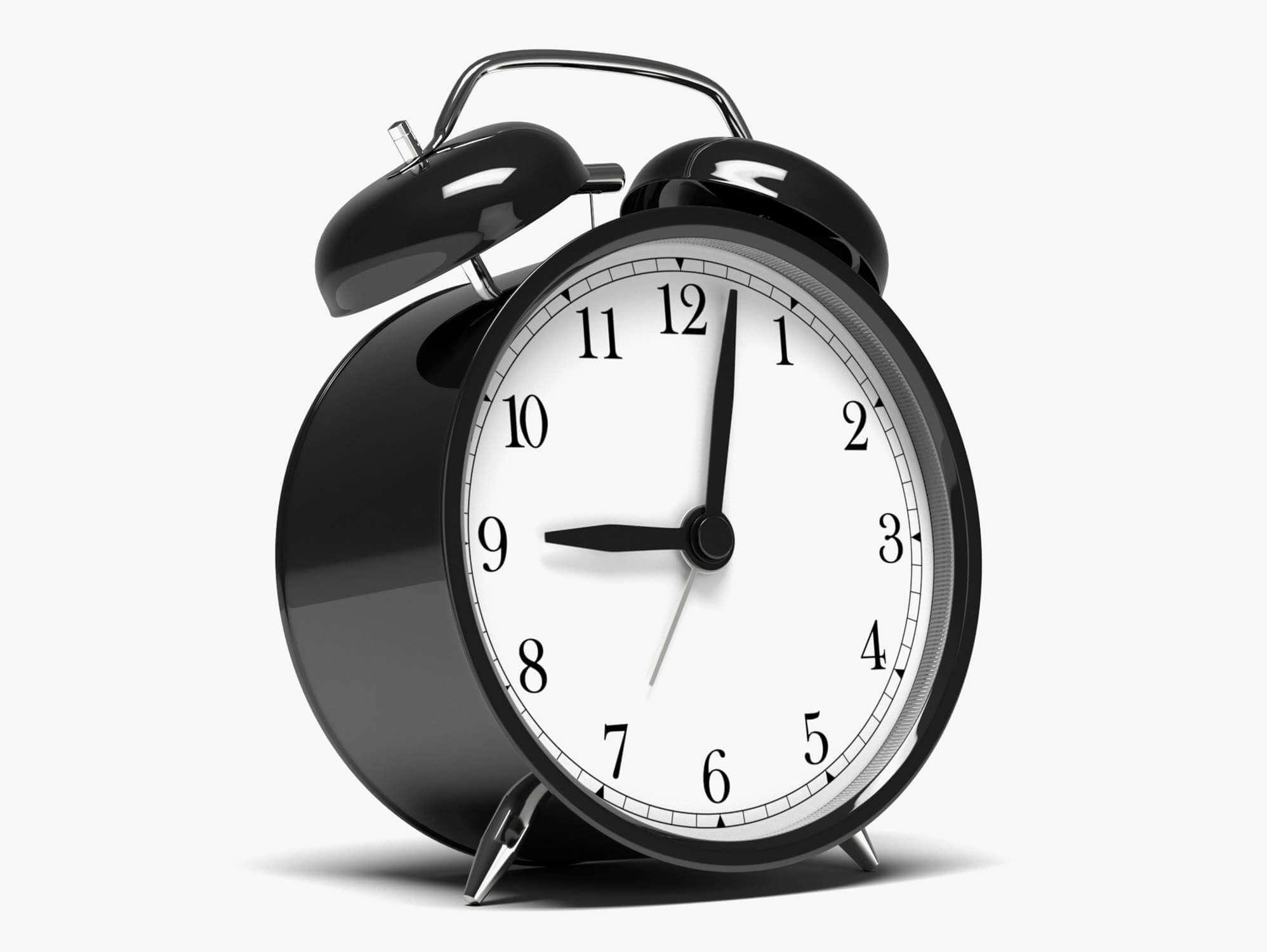 IKEA Alarm Clock 3D Model