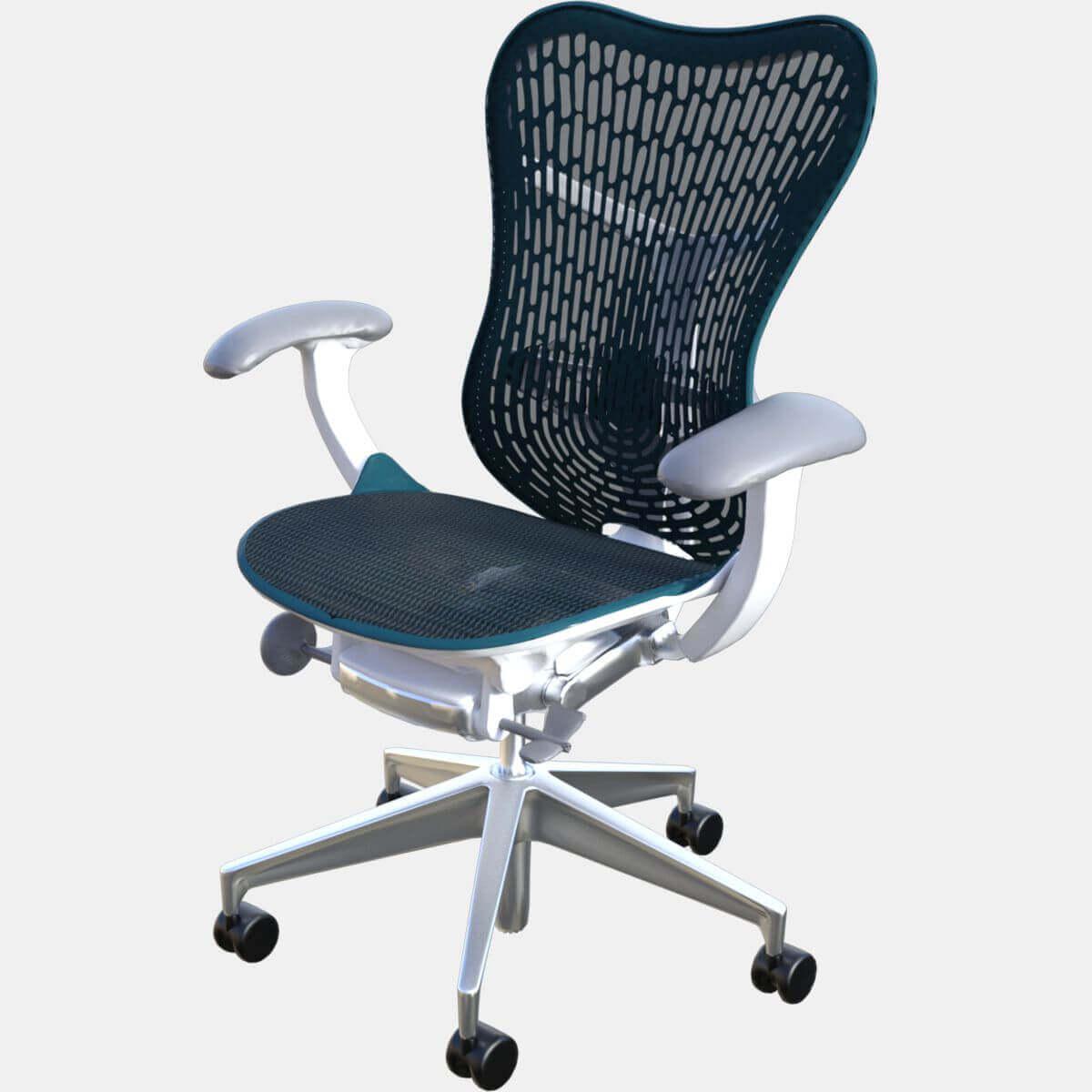mirra 2 chair over tables elderly herman miller free 3d model