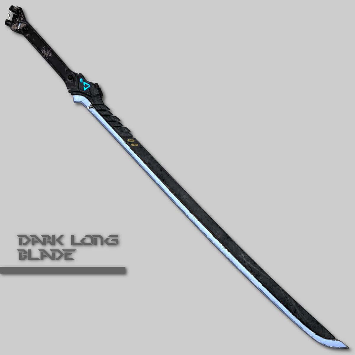 Sci Fi Swords Pack 3d Model
