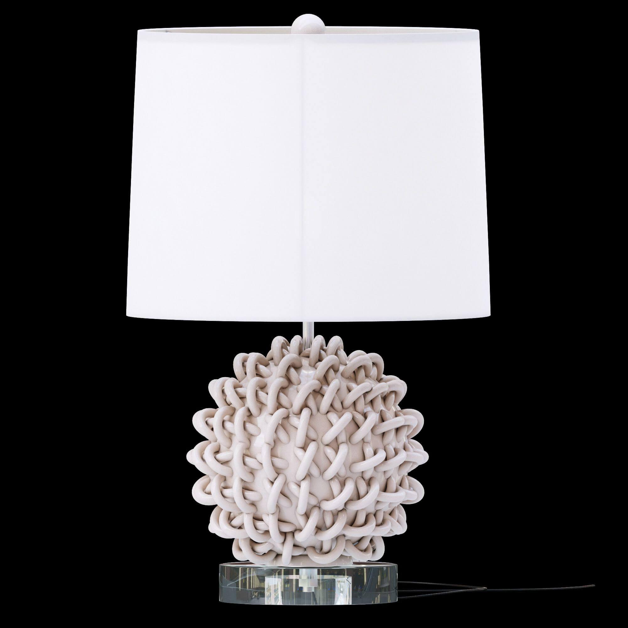 arteriors home jamienne lamp 3d model