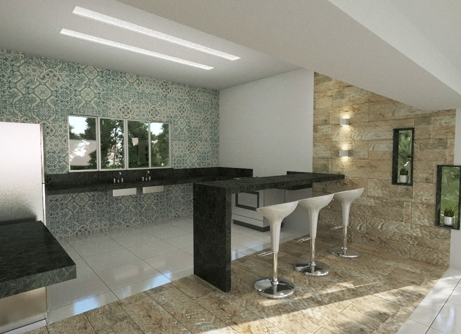 Interior Designs With SketchUp Render Plus Software