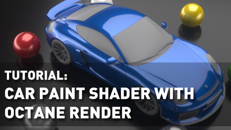Modo Car Paint Shader