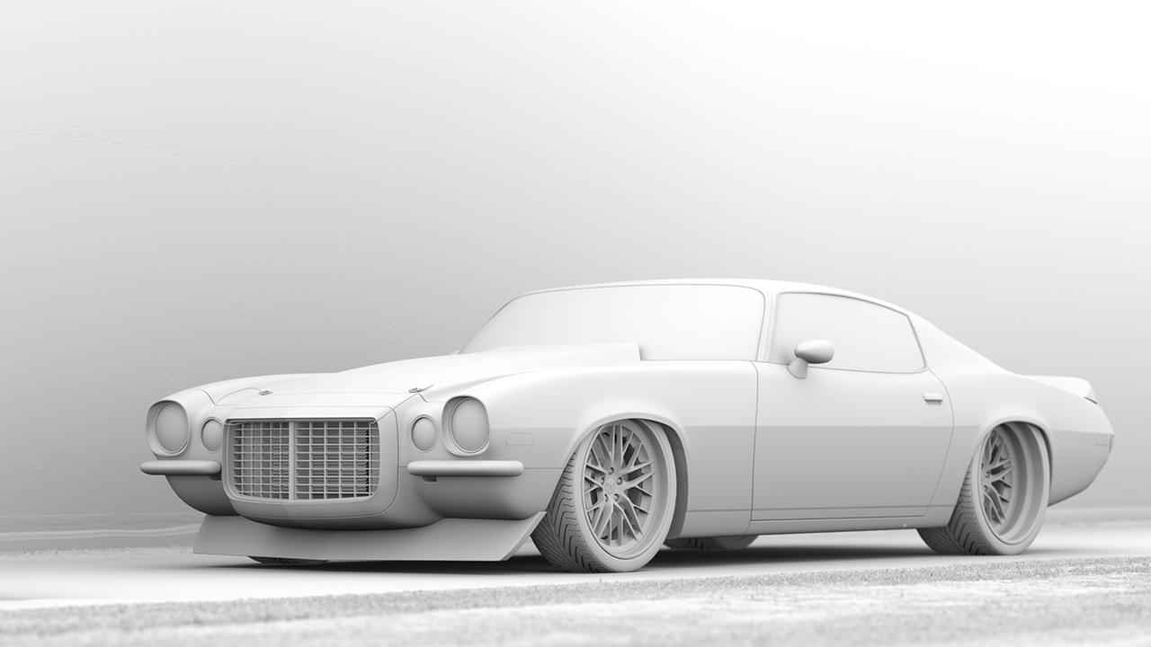 Rendering Classic Cars In Octane