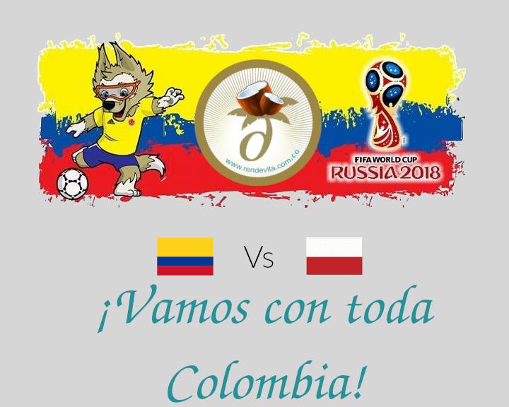 Rusia 2018: Colombia vs Polonia