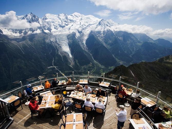 Terrasse panoramique, Aiguille du Midi