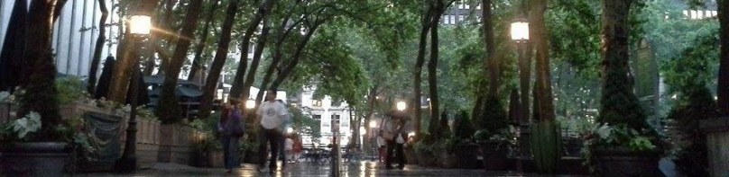 Cropped Bryant Park NYC