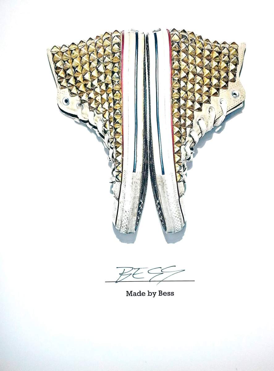 "Chuck Taylor All Star As Art and ""Made By You"""