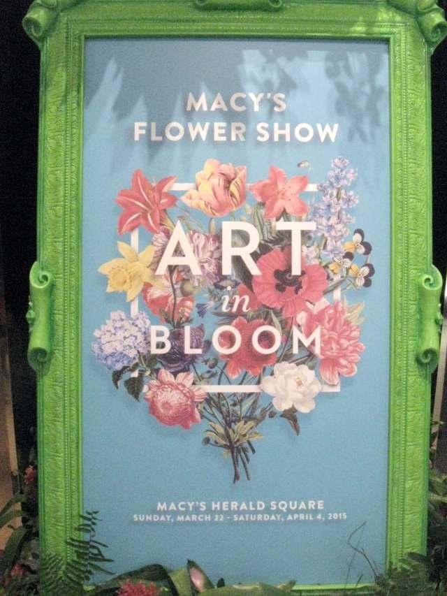 Macy's Flower Show 2015: Art in Bloom