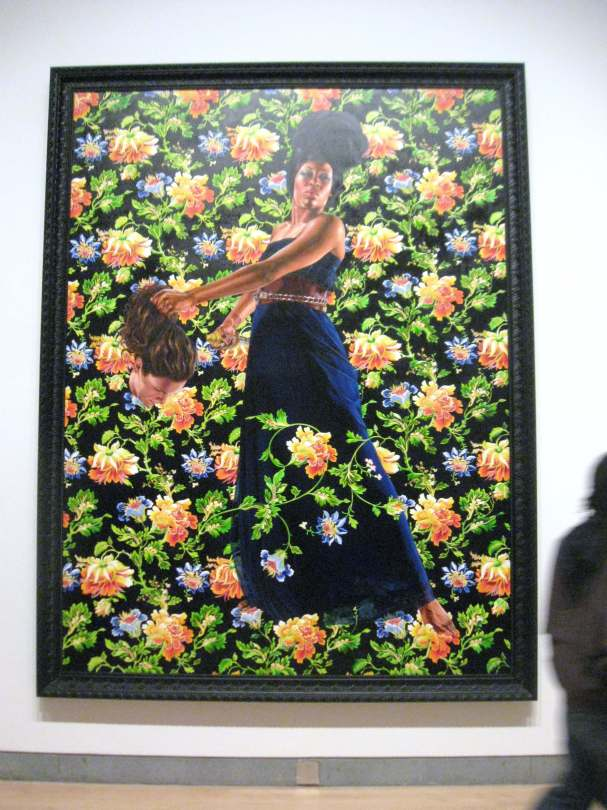 """Judith and Holfernes, oil on linen, from the series, """"An Economy of Grace"""" #KehindeWiley"""