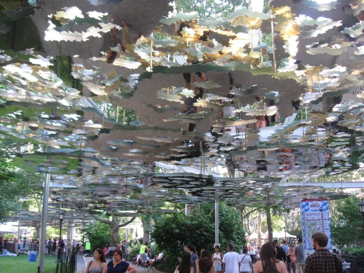 Madison Square Park Art Installation: Fata Morgana
