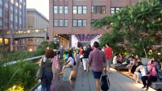High Line Park in NYC