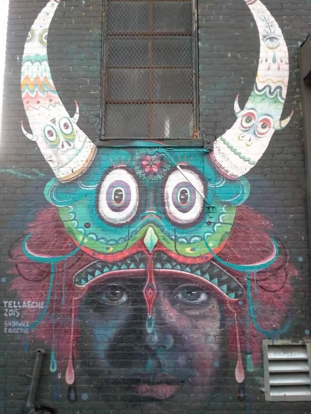 Tellaeche, the Bushwick Collective, NYC