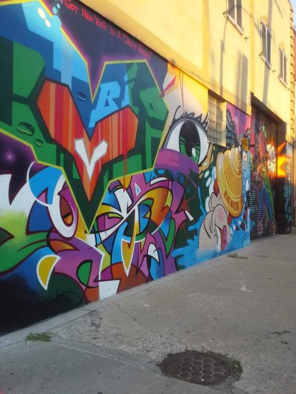 Tats Cru, the Bushwick Collective, NYC