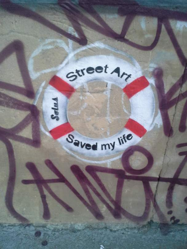 street art, Street Art Saved My Life, The Bushwick Collective, NYC