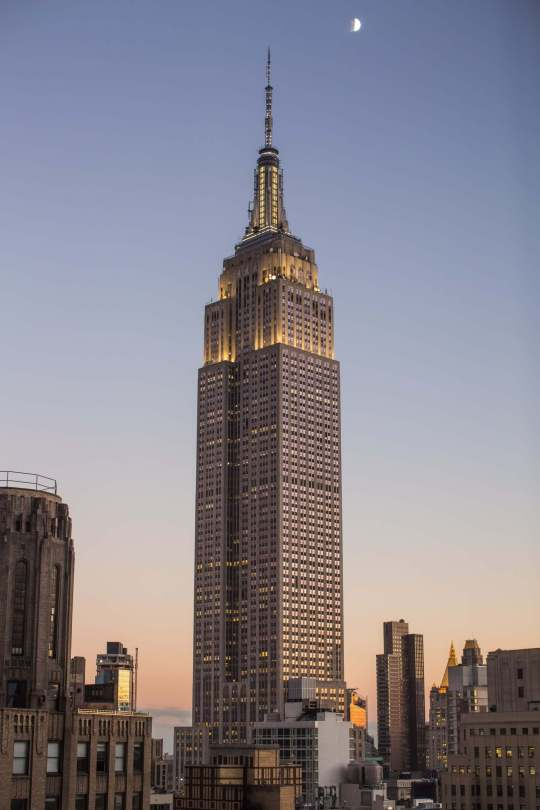 Empire State Building, NYC, Rendezvous En New York
