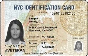 NYC Identification Card